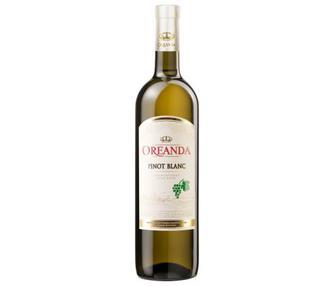Вино Пино Блан Ореанда , белое, п/сл 0,75 л