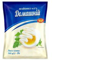 Майонез «Домашній» 67%, Чугуїв-продукт, 360г