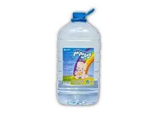 Вода питьевая детская Аквуля 6 л