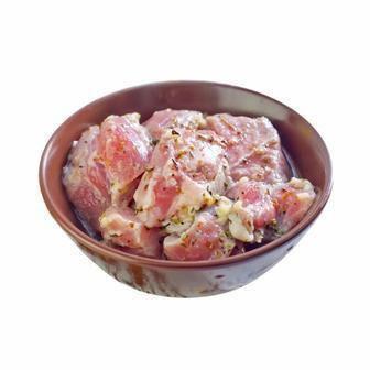 Шашлик зі свинини в маринаді лимон-пфеффер охолоджений   1 кг