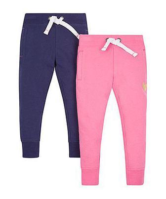 Сині та рожеві спортивні штани - 2 шт від Mothercare