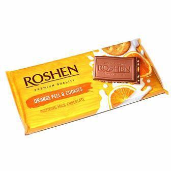 Шоколад молочный Roshen 90г