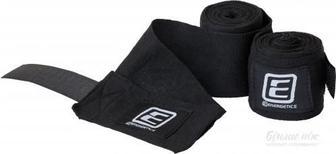 Боксерські бинти Energetics Box Bandage elastic 225560 чорний р. універсальний