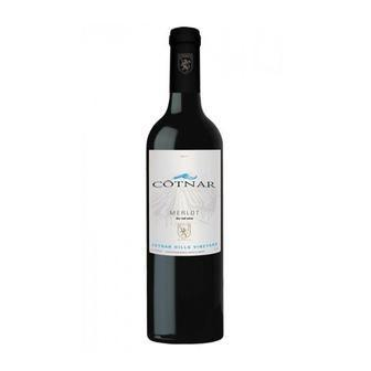 Вино Мерлот червоне напівсолодке Cotnar 0,75л