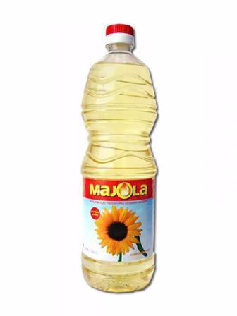 Олія соняшникова рафінована Майола 0.85 мл