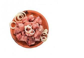 Скидка 11% ▷ Шашлык из свиной мякоти, 100г