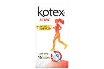 Тампони Kotex Active Normal, 16шт./уп