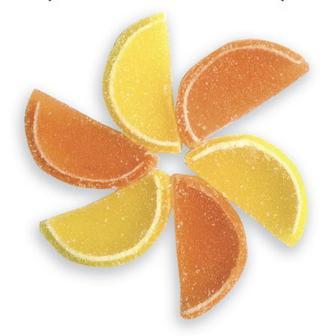 Мармелад апельсин та лимон кг