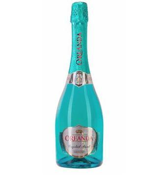 Шампанське Кристал Брют біле сухе/Вино ігристе Спрітз Коктейль Ореанда 0.75л