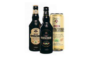 Скидка 35% ▷ Пиво нефільтроване Бочкове, світле, темне Перша приватна броварня 0,5 л