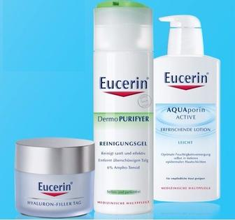 Товари торгової марки Eucerin