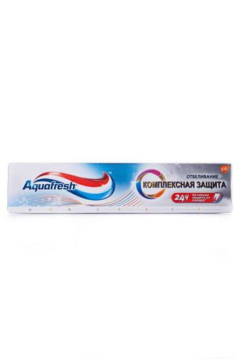 Зубная паста Aquafresh Комплексная защита отбеливание 100мл