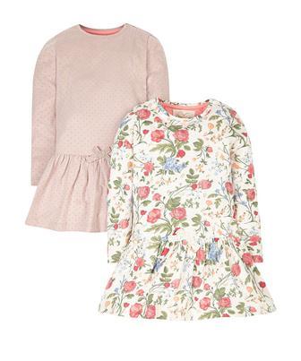 Сукні у квітку та цяточку - 2 шт від Mothercare