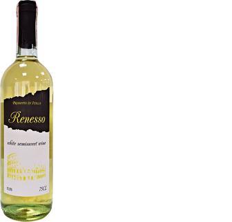 Вино Renesso Vino Rosso Semisweet черв.н/сол., біл.н/сол.10,5%, 0,75л