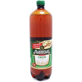 Пиво світле Львівське 1.25 л