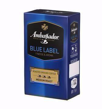 Кава мелена Blue Label Ambassador, 250г