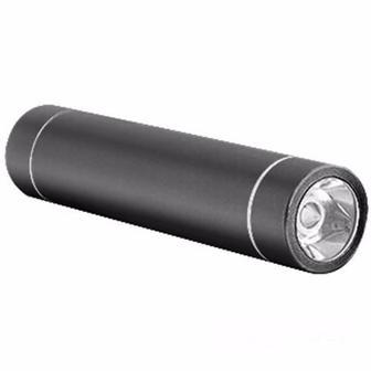 Портативный аккумулятор Drobak Power Bank Alum-2200 LED Black (608707)
