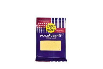 Сир твердий «Російський», класичний, 50% Пирятин 160 г