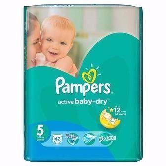 Підгузники Pampers Active Baby-Dry