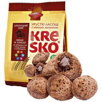 Фігурки хрусткі АВК Kresko шоколадний смак 74г