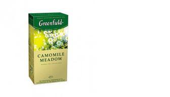 Чай травяной Camomile Meadow, Greenfield, 25*1,5г