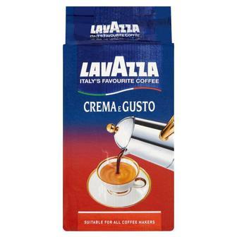 Скидка 26% ▷ Кофе молотый Crema Gusto Lavazza 250 г