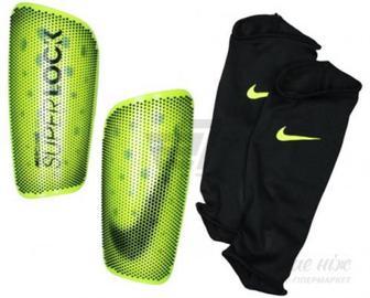 Щитки футбольні Nike NK MERC LT-SUPERLOCK р. S жовтий