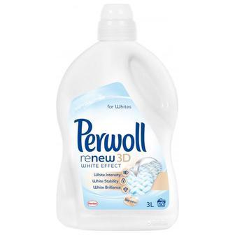 Средство для стирки белых вещей Perwoll Advanced White жидкое 1800 мл
