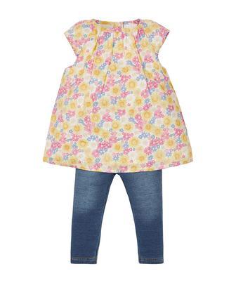 Набір з квіткової блузи та легінсів від Mothercare