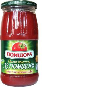 Паста томатна «33 помідора» Помідора, 460г