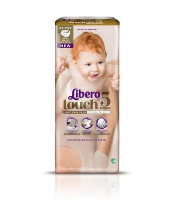 Подгузники LIBERO Touch р5 10-14 кг 44 шт