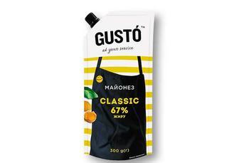 Майонез Classic, 67% Gusto 300 г