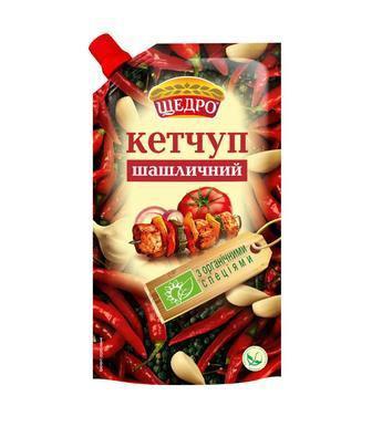 Кетчуп шашлычный Щедро, 300г