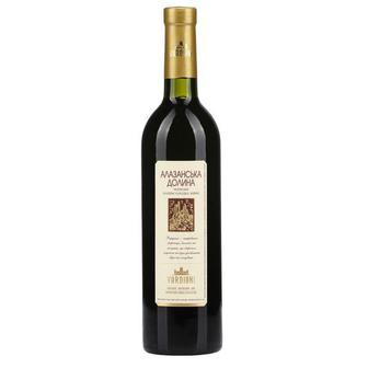 Вино Алазанська долина червоне напівсолодке 0,75л
