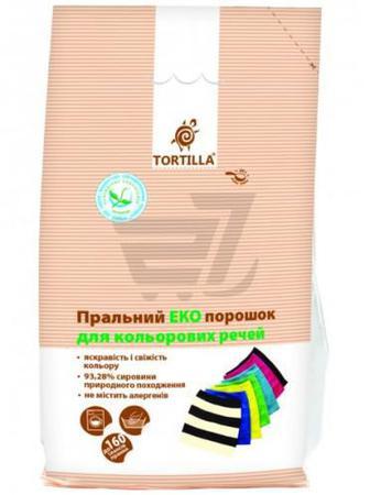 Пральний порошок універсал TORTILLA Еко для кольорових речей 8 кг