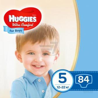 Підгузки Huggies Ultra Comfort 5 12-22 кг 84 шт. для хлопчика