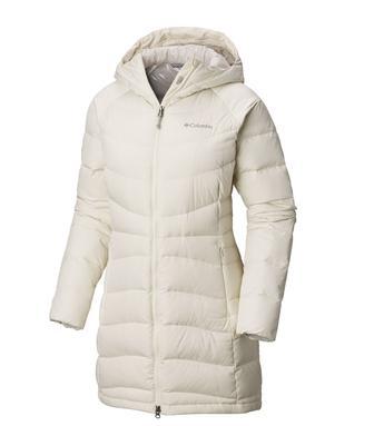 Куртка пухова жіноча Columbia Winter Haven біла