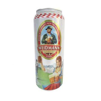 Пиво світле/темне пшеничне нефільтроване/чорне/Lager Standard Weidmann 0,5л