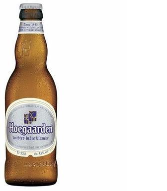 Пиво White світле 4,7% , Hoegaarden, 0,33л