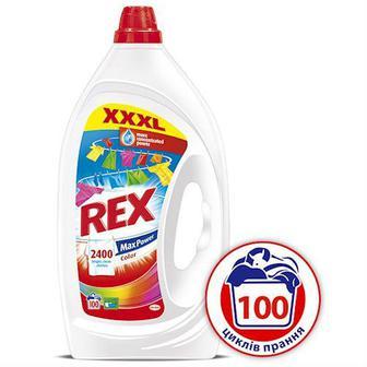 Гель для стирки REX Max Power Color для цветных вещей 5 л