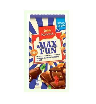 Шоколад МаксФан 160г
