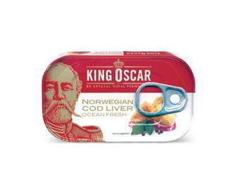 Печінка тріски King Oscar,  121 г