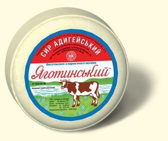 Сыр мягкий Адыгейский 45% Яготинський 350г