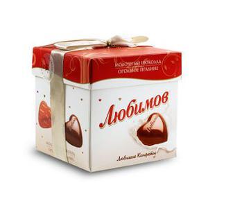 Цукерки в молочному шоколаді Любімов 208г