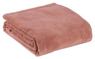 Плед BELLIS фліс 140x200см т.рожевий
