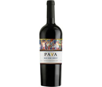 Вино Пава червоне н/с/Піно брі біле сухе 0,75л