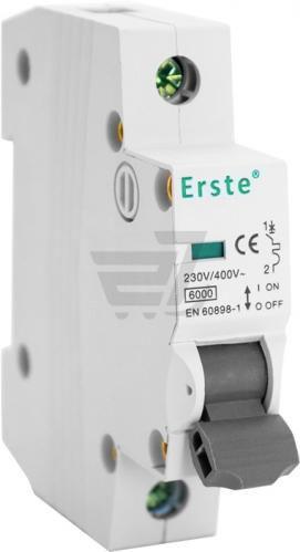 Автоматичний вимикач Erste EB5-63 1P 20A тип С 6кА