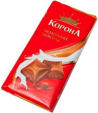 Шоколад молочний Корона, 90г