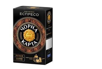 """Кава мелена """"Чорна Карта"""" Espresso, 225г"""