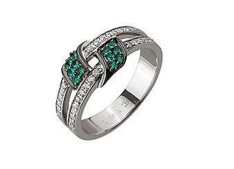 Золотое кольцо с бриллиантами Артикул 01-17441110